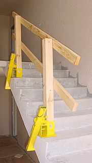 Clamp On Guardrail Systems From Safety Maker Inc