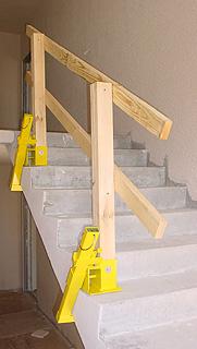 Ordinaire VersiShield® Guardrail U0026 Stair Rail Clamping System Applications